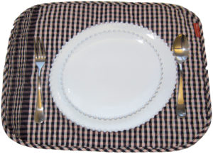 INDIVIDUAL WADDING TABLECLOTH